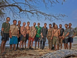 The group of islanders